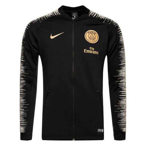 Original PSG Premium Zipper Black 2018-19