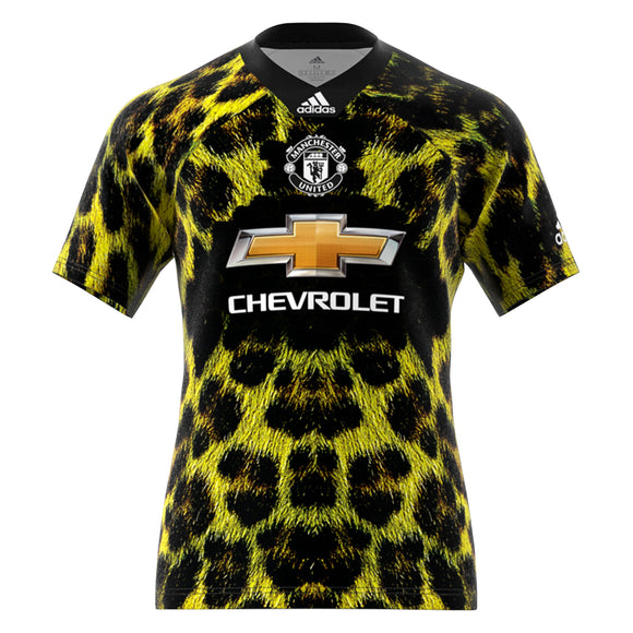 Rare Original Manchester United EA Sports Edition Green Jersey 2019 [Superior Quality]