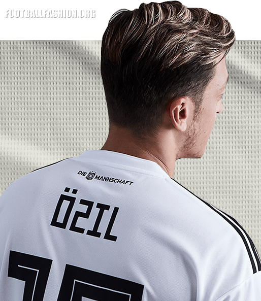 on sale 3778e 7adcb Original Ozil Germany Premium Home Jersey & Shorts World Cup 2018