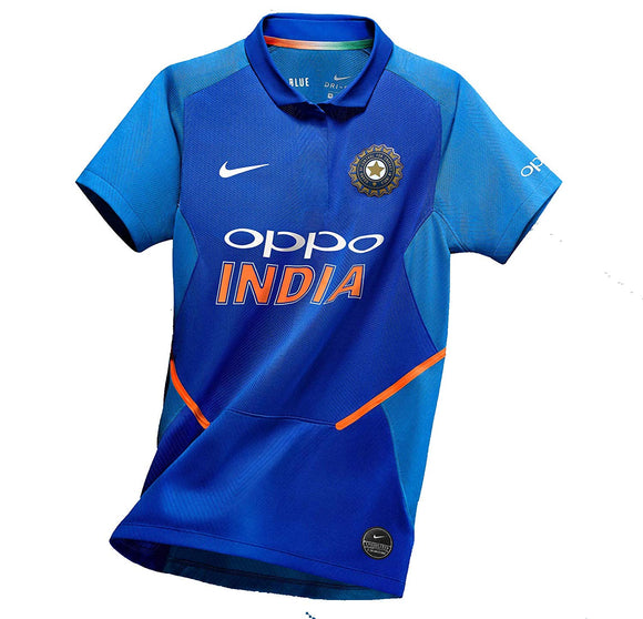 Original India National Premium Cricket Jersey World Cup 2019
