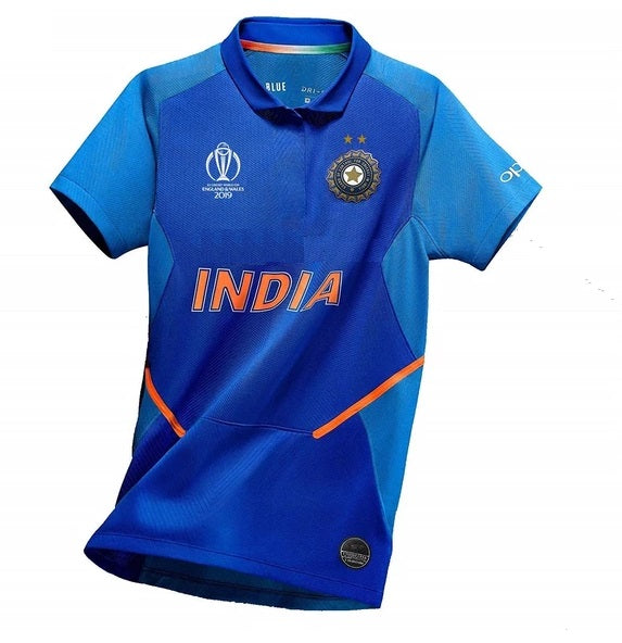 Original India World Cup 2019 International Cricket Jersey [Original Piece]