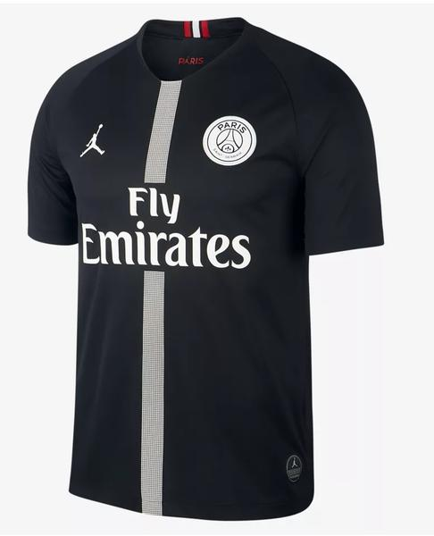 Original Jordan X Black PSG Champions League Edition Jersey  2018-19 [Superior Quality]