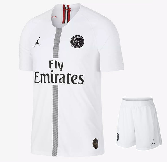 Original Jordan X White PSG Jersey & Shorts [Optional] 2018-19