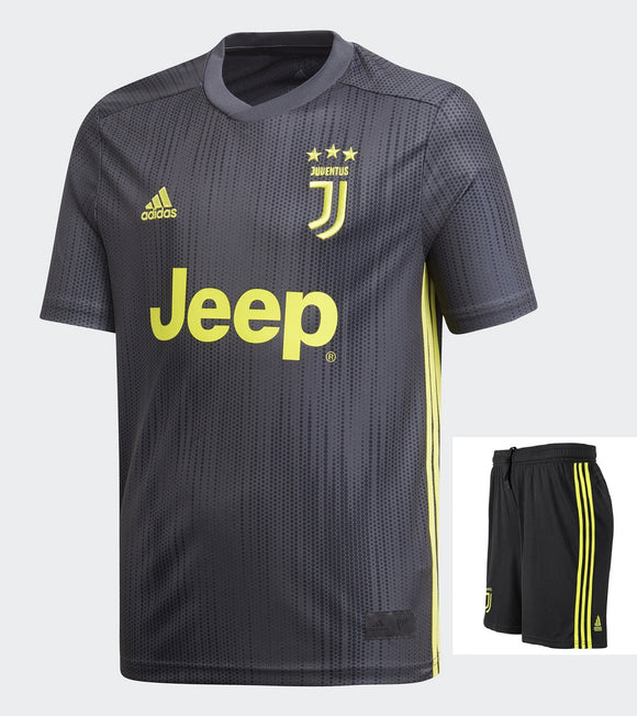 Original Juventus Premium 3rd Jersey and Shorts 2018-19