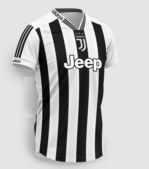 Original Juventus Special Edition Jersey & Shorts [Optional] 2019/20 [with Italia logos]