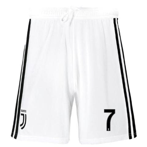 Original Ronaldo Juventus Premium Home White Shorts 2018-19