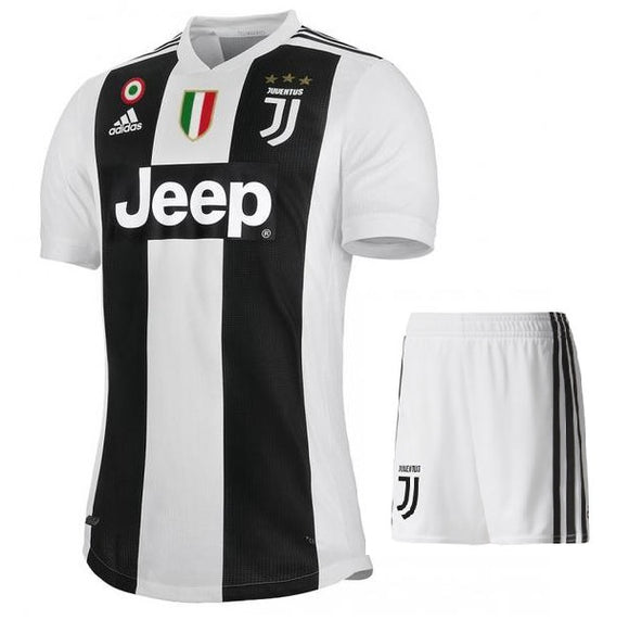 Original Juventus Premium Home Jersey and Shorts[Optional] 2018-19