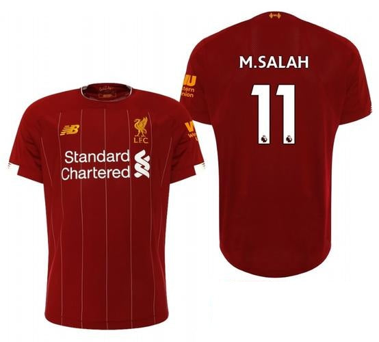Original Mo Salah Liverpool Champions League Edition Home Jersey [Superior Quality] 2019/20