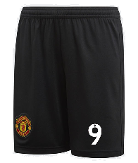 Original R Lukaku Manchester United Premium Home Shorts 2018-19