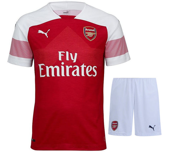 Original Arsenal Premium Home Jersey and Shorts [Optional] 2018-19