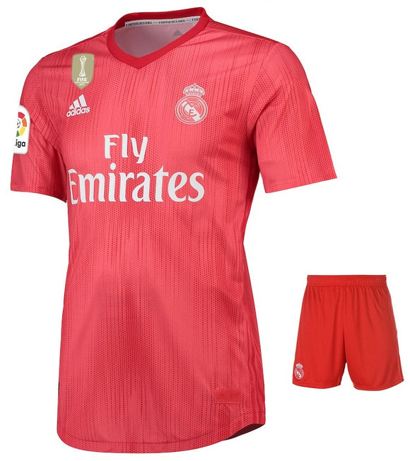 Original Real Madrid Premium 3rd Jersey & Shorts [Optional] 2018-19