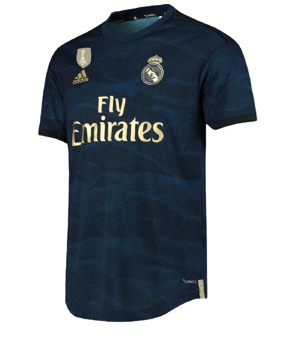Original Real Madrid Away Player's Jersey 2019/20 [Superior Quality]