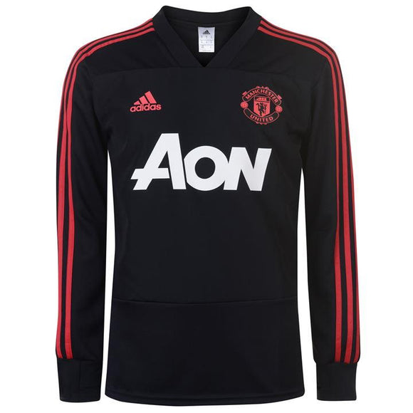 Original Manchester United Premium Track Upper Black 2018-19