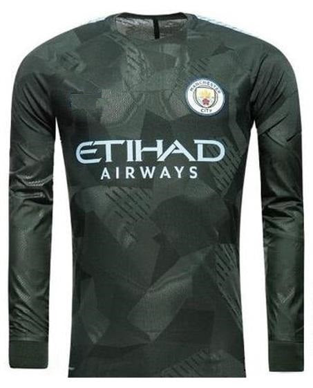 Original Manchester City Premium Full sleeve 3rd Jersey 2017-18