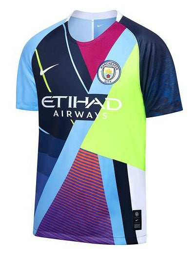Original Manchester City Premium Special Edition Jersey [Superior Quality] 2019