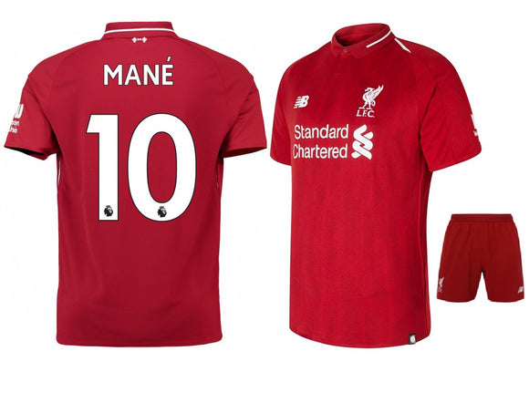 Original Mane' Liverpool Premium Home Jersey & Shorts 2018-19