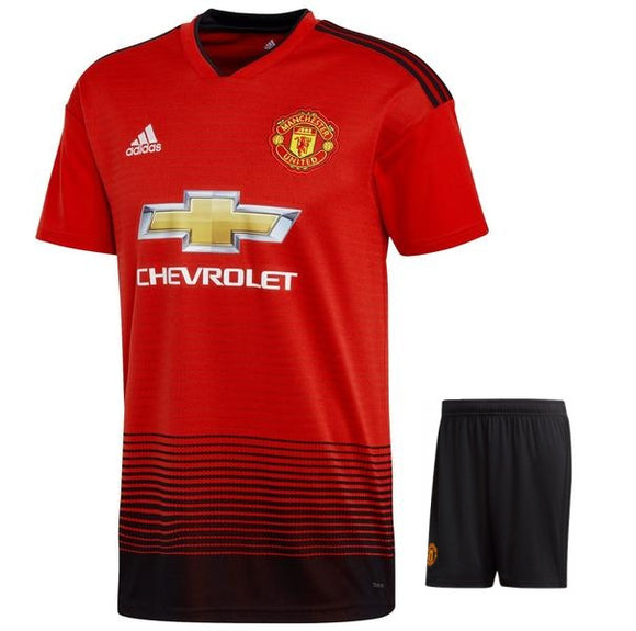 Original Manchester United Premium Home Jersey & Shorts [Optional] 2018-19