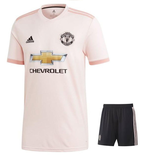 Original Manchester United Away Jersey & Shorts [Optional] 2018-19