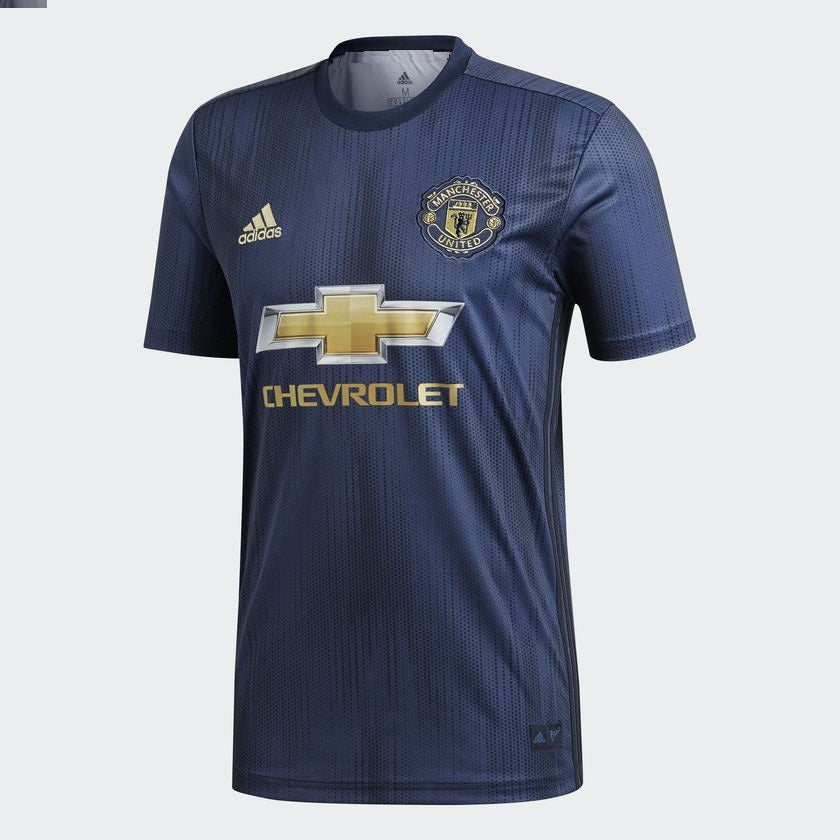 7a69bac95 ... Original Manchester United Premium 3rd Kit Jersey and Shorts  Optional   2018-19 ...