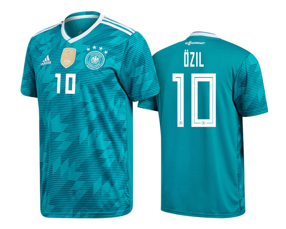 Original Ozil Germany Premium Away Jersey FIFA World Cup 2018