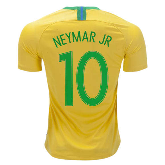Neymar Brazil Home Jersey & Shorts FIFA World Cup 2018 (Brand Logo available)