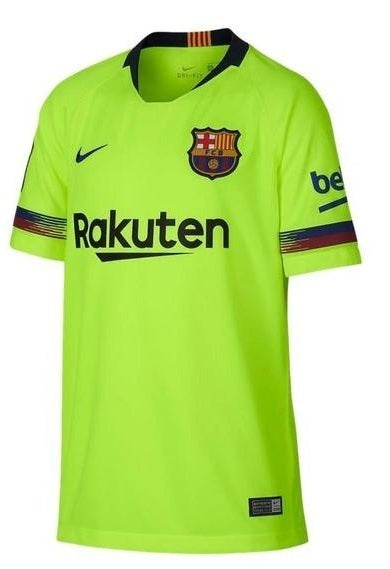Original Barcelona Premium Away Jersey [Superior Quality] 2018-19