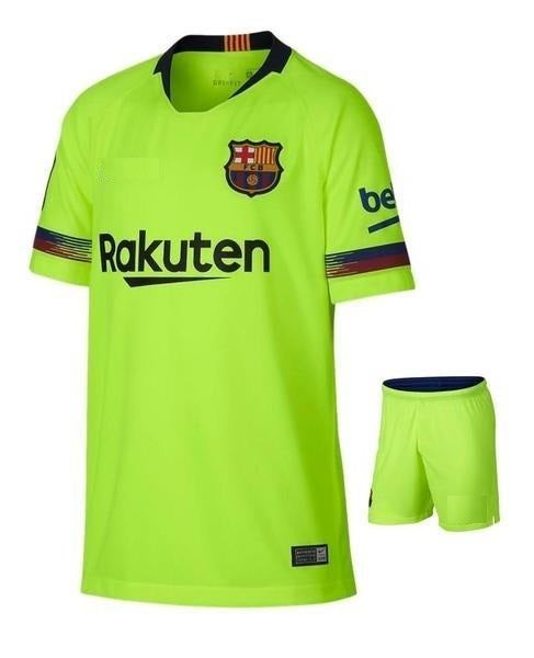 Original Barcelona Premium Away Jersey & Shorts [Optional] 2018-19