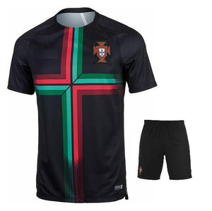 Rare Original Portugal International Premium Training Jersey & Shorts [Optional] World Cup 2018