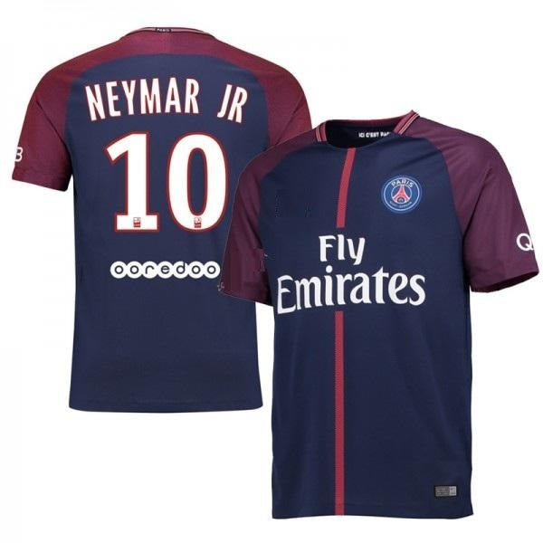 top fashion d5939 48971 Original Neymar PSG Premium Home Jersey 17-18