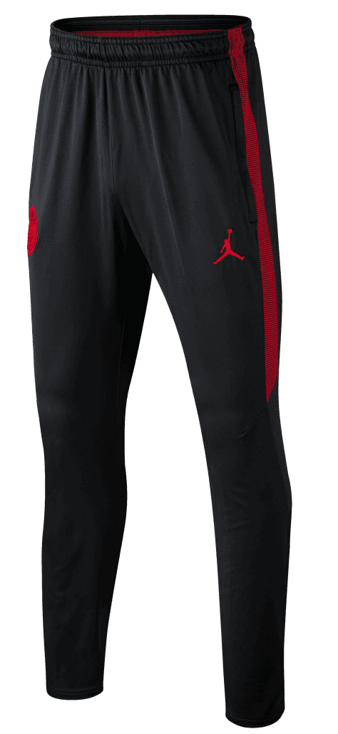 Original PSG Jordan X Black & Red Training Trouser