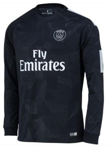 reputable site 843be d5d76 Original PSG Premium 3rd Full Sleeve Jersey 2017-18