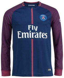separation shoes 1f482 ce529 Original PSG Full Sleeve Premium Home Jersey 2017-18