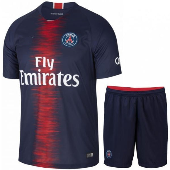 Original PSG Premium Home Jersey & Shorts [Optional] 2018-19