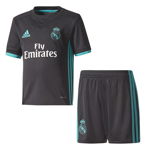 Kids Real Madrid Football Jersey & Shorts