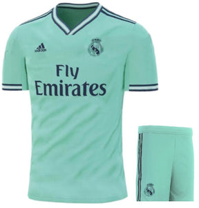 info for aafa5 8ae79 Real Madrid 3rd Jersey & Shorts 2019/20