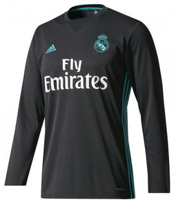 new product cdba4 01a1b Original Real Madrid Full sleeve Premium Away Jersey 2017-18