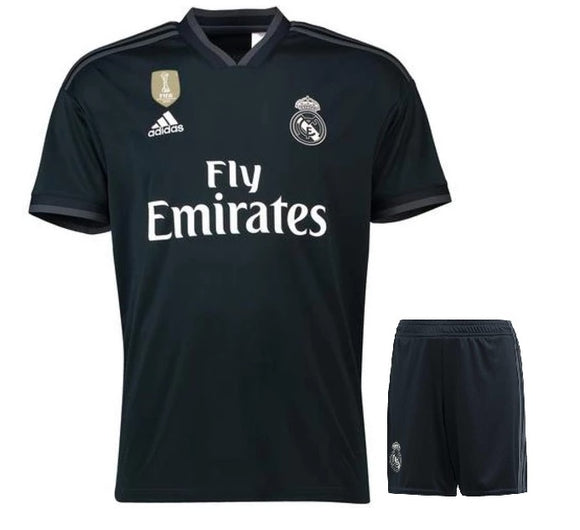 Original Real Madrid Premium Away Jersey & Shorts [Optional] 2018-19