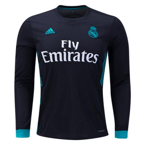 Real Madrid Away Full Sleeves Jersey & Shorts