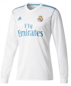 half off b1bee 6be15 Original Real Madrid Premium Full Sleeve Home Jersey 2017-18