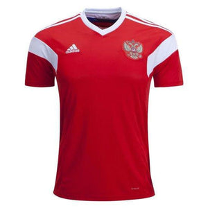 Russia Home Jersey & Shorts FIFA World Cup 2018