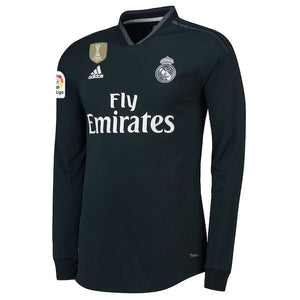 cheaper c2123 2b1d8 Original Real Madrid Full Sleeve Premium Away Jersey 2018-19