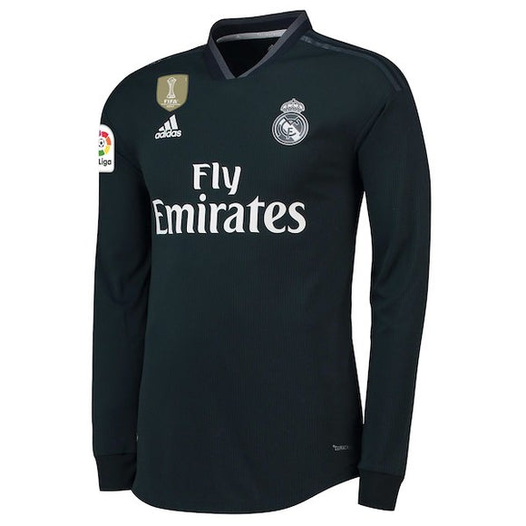 Original Real Madrid Full Sleeve Premium Away Jersey 2018-19