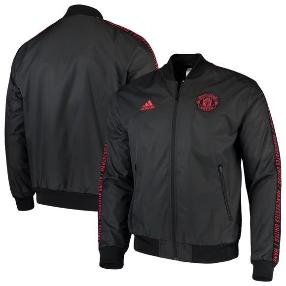 Original Manchester United Anthem Black Zipper Red 2019/20