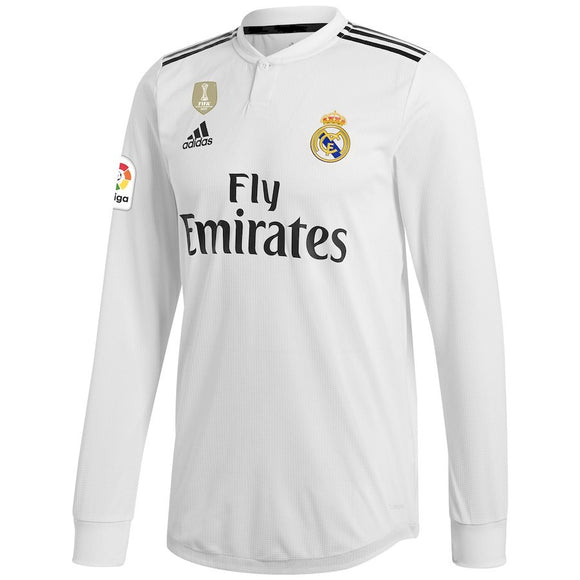 Original Real Madrid Full Sleeve Premium Home Jersey Only 2018-19