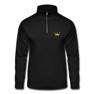 Men's Quarter Zip Pullover - black