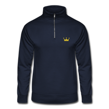 Load image into Gallery viewer, Men's Quarter Zip Pullover - navy