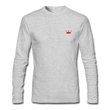 Load image into Gallery viewer, JM Crown Premium Long Sleeve - heather gray