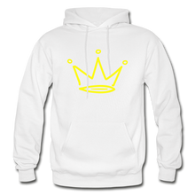 Load image into Gallery viewer, Crown Premium Hoodie - white