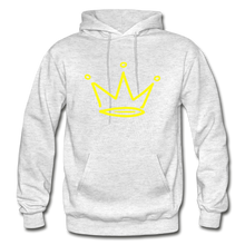 Load image into Gallery viewer, Crown Premium Hoodie - light heather gray