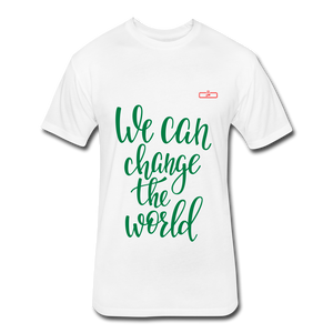 We Can Change The World - white